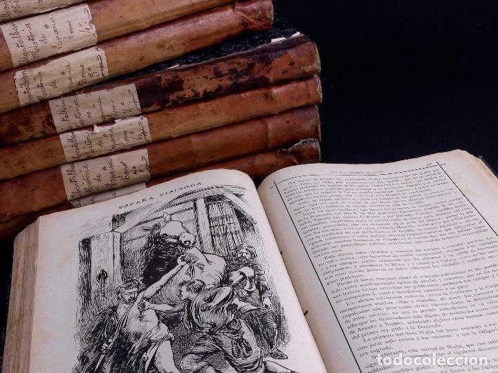 Libros antiguos: HISTORIA GENERAL DE ESPAÑA, ANTONIO DE CARCER DE MONTALBAN, 8 TOMOS - Foto 6 - 125090227