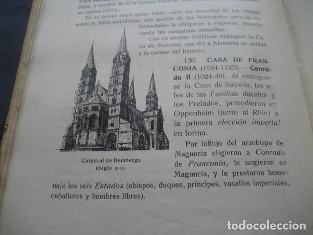 Libros antiguos: LIBRO HISTORIA UNIVERSAL EDAD MEDIA. RAMON RUIZ AMADO 1915 - Foto 5 - 126129575