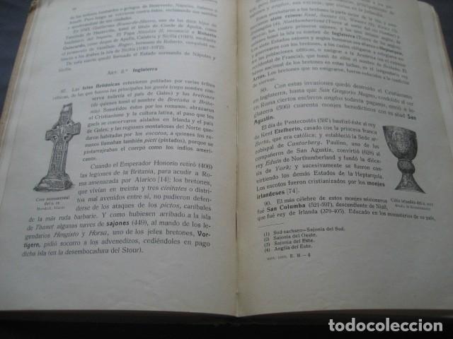 Libros antiguos: LIBRO HISTORIA UNIVERSAL EDAD MEDIA. RAMON RUIZ AMADO 1915 - Foto 7 - 126129575
