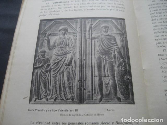Libros antiguos: LIBRO HISTORIA UNIVERSAL EDAD MEDIA. RAMON RUIZ AMADO 1915 - Foto 10 - 126129575