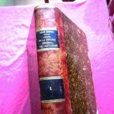 Libros antiguos: GIJON EN LA HISTORIA GENERAL DE ASTURIAS JULIO SOMOZA ORIGINAL 1908. Lote 126361211