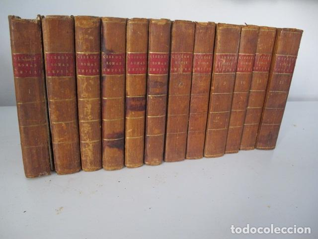 THE HISTORY OF THE DECLINE AND FALL OF THE ROMAN EMPIRE. BY EDWARD GIBBON, LONDON, 1783 (Libros antiguos (hasta 1936), raros y curiosos - Historia Antigua)