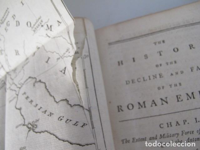 Libros antiguos: The history of the decline and fall of the Roman Empire. By Edward Gibbon, London, 1783 - Foto 4 - 126370443