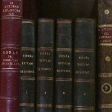 Libros antiguos: AÑO 1846 - COXE, GUILLERMO. ESPAÑA BAJO EL REINADO DE LA CASA DE BORBÓN IMPRENTA MELLADO. Lote 126548551