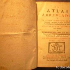 Libros antiguos: FRANCISCO GIUSTINIANI: - EL ATLAS ABREVIADO...TOMO 3 (TRATADO DE GEOGRAFÍA ANTIGUA) (LYON, 1739). Lote 126698351