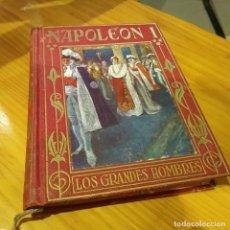 Libros antiguos: NAPOLEON BONAPARTE DE JOSE POCH NOGUER , EDICION DE 1948. Lote 126817099