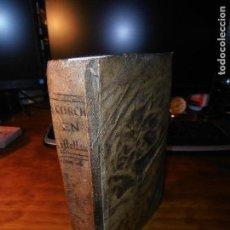 Libros antiguos: QUINTO CURCIO RUFO, DE LA VIDA Y ACCIONES DE ALEXANDRO EL GRANDE. 1794.. Lote 126967563