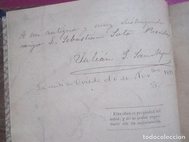 Libros antiguos: NOTICIAS HISTORICAS DE AVILES GARCIA SAN MIGUEL FIRMADO Y DEDICADO POR EL AUTOR 1897 1ª EDICION - Foto 4 - 127591891