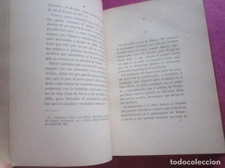 Libros antiguos: NOTICIAS HISTORICAS DE AVILES GARCIA SAN MIGUEL FIRMADO Y DEDICADO POR EL AUTOR 1897 1ª EDICION - Foto 9 - 127591891