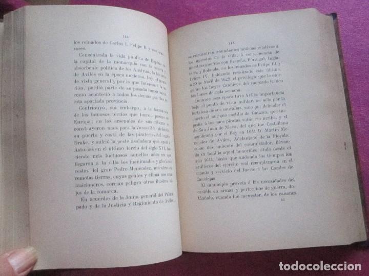 Libros antiguos: NOTICIAS HISTORICAS DE AVILES GARCIA SAN MIGUEL FIRMADO Y DEDICADO POR EL AUTOR 1897 1ª EDICION - Foto 10 - 127591891