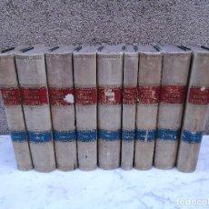 Libros antiguos: HISTORIA UNIVERSAL DE CÈSAR CANTU 10 TOMOS. Lote 128181483