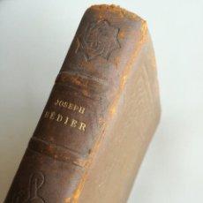 Libros antiguos: LA CHANSON DE ROLAND (1928) - BILINGÜE MANUSCRITO OXFORD - FRANCÉS. Lote 128225803