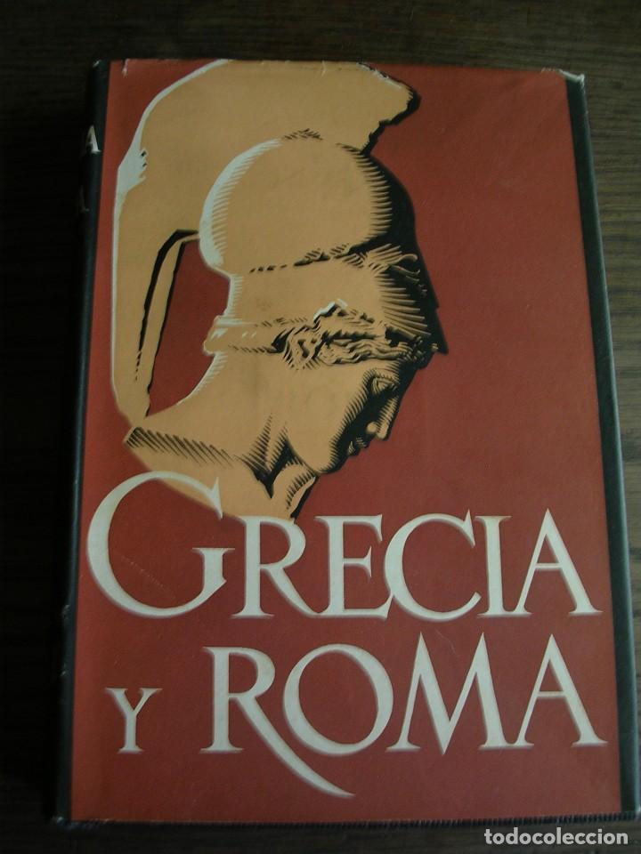 LIBRO, GRACIA Y ROMA, H. TH. BOSSERT, EDITOR GUSTAVO GILI (Libros antiguos (hasta 1936), raros y curiosos - Historia Antigua)