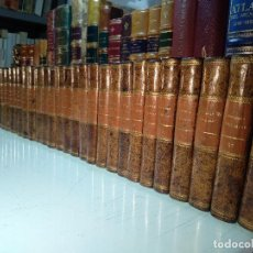 Libros antiguos: HISTORIA UNIVERSAL - CESAR CANTU - 37 TOMOS - EST. TIP. DE D. FRANCISCO DE PAULA MELLADO - 1847 - MA. Lote 128478027