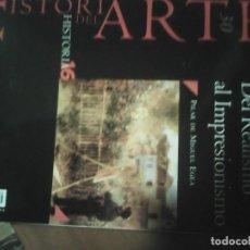 Libros antiguos: DEL REALISMO AL IMPRESIONISMO. HISTORIA DEL ARTE NÚMERO 30. Lote 128585935