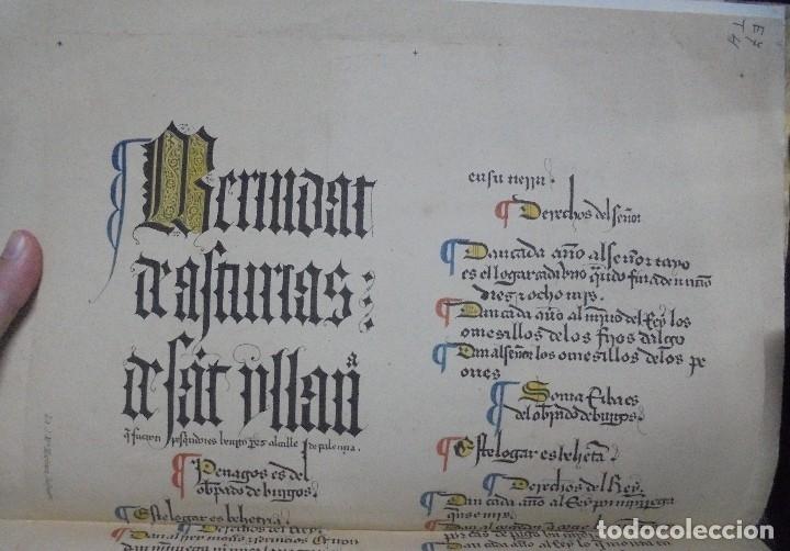 Libros antiguos: Las Behetrías de Castilla,Espectacular Facsímil,1865,Chancillería de Valladolid,Santander - Foto 4 - 57095494
