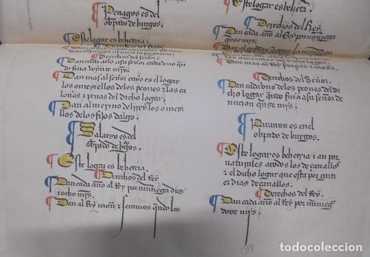 Libros antiguos: Las Behetrías de Castilla,Espectacular Facsímil,1865,Chancillería de Valladolid,Santander - Foto 5 - 57095494