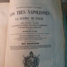 Alte Bücher - Los tres Napoleones 1860 n 2 - 130198614