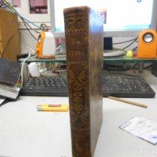 Libros antiguos: 1845 HISTORIA AMERICA Y OCEANIA ADORNADO CON TREINTA LAMINAS GRABADAS AL ACERO Y DOS MAPAS ILUMINADO. Lote 130337170