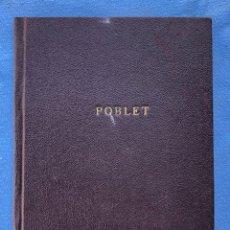 Libros antiguos: LIBRO POBLET 1870 EX LIBRES. Lote 130896403