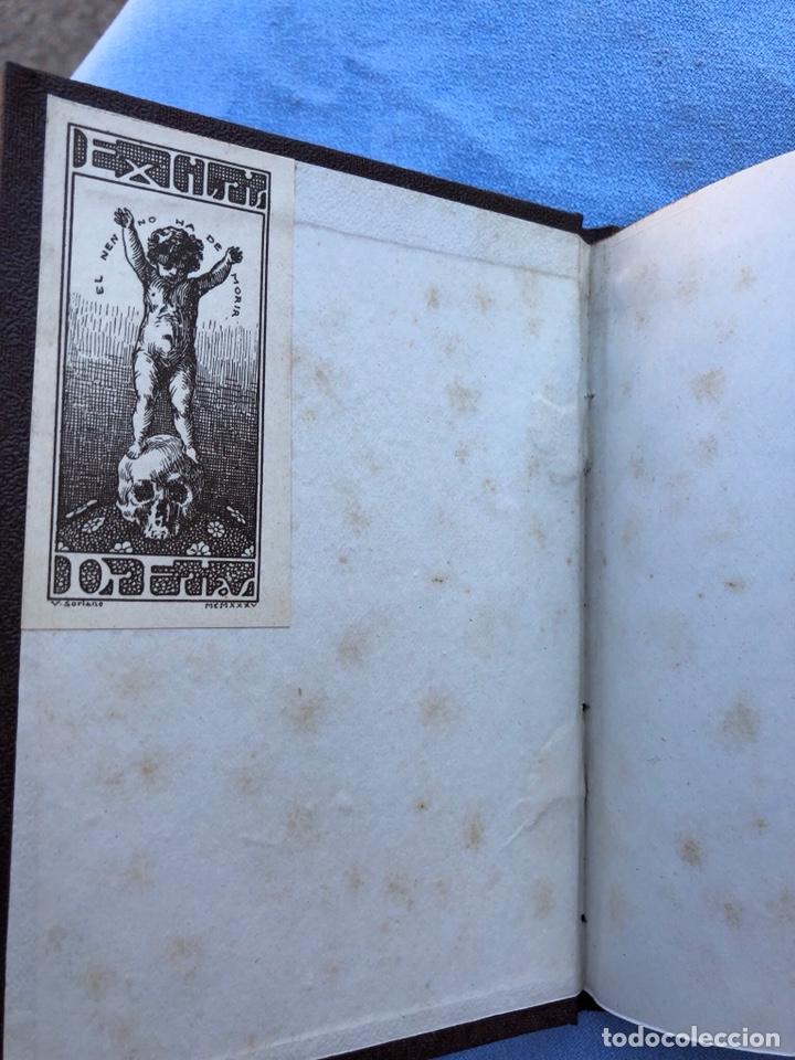 Libros antiguos: Libro Poblet 1870 Ex Libres - Foto 2 - 130896403