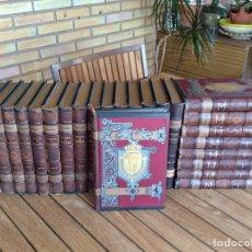 Libros antiguos: HISTORIA GENERAL DE ESPAÑA MODESTO LAFUENTE 25 VOL. COMPLETA 1887 EN BUEN ESTADO. Lote 131091963