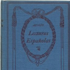 Libros antiguos: LECTURAS ESPAÑOLAS, POR AZORÍN. AÑO ¿? (10.6). Lote 131503010