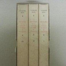 Libros antiguos: HISTORIA DE LA CIUDAD Y REINO DE VALENCIA - 3 TOMOS. Lote 35893356