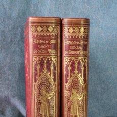 Libros antiguos: CANTIGAS DE SANTA MARÍA DE ALFONSO X EL SABIO. 1889 REAL ACADEMIA ESPAÑOLA.. Lote 132076170
