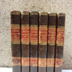 Libros antiguos: HISTORIA DE LA REVOLUCIÓN FRANCESA 1840 EN 6 VOLUMENES.. Lote 132448786