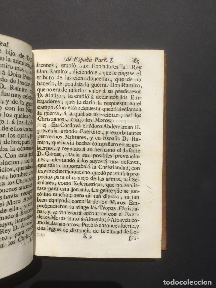 Libros antiguos: 1775 Sucesion real de España - Historia de España - Don Pelayo - Reconquista - Cid Campeador - Foto 7 - 132479898