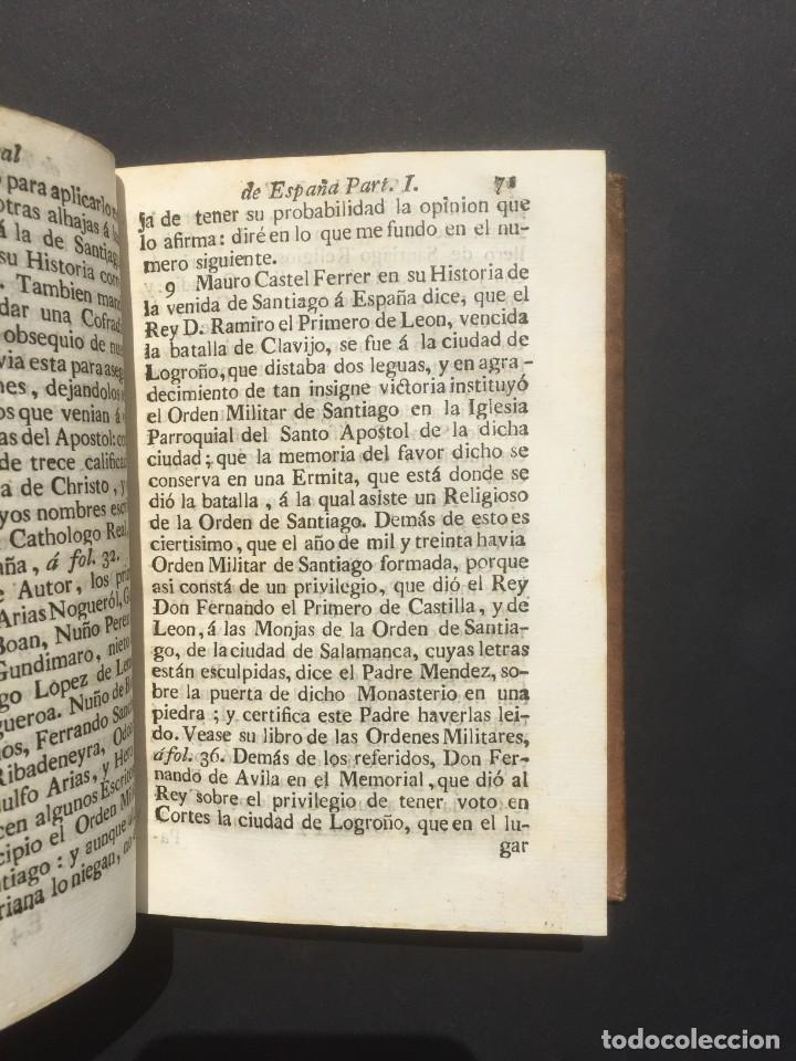 Libros antiguos: 1775 Sucesion real de España - Historia de España - Don Pelayo - Reconquista - Cid Campeador - Foto 8 - 132479898