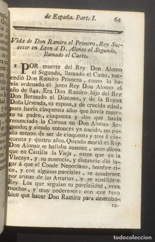 Libros antiguos: 1775 Sucesion real de España - Historia de España - Don Pelayo - Reconquista - Cid Campeador - Foto 9 - 132479898