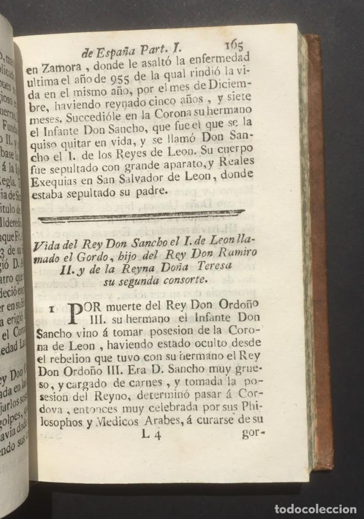 Libros antiguos: 1775 Sucesion real de España - Historia de España - Don Pelayo - Reconquista - Cid Campeador - Foto 10 - 132479898