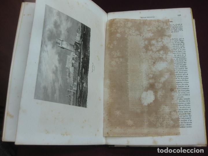 Libros antiguos: HISTORIA PINTORESCA DE LAS CRUZADAS POR MICHAUD Y POUJOULAT. CON DESCRIPCION DE PALESTINA. 1845. - Foto 4 - 132552670