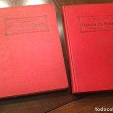 Libros antiguos: DOS LIBROS DE HISTORIA DE ESPAÑA. Lote 132825426