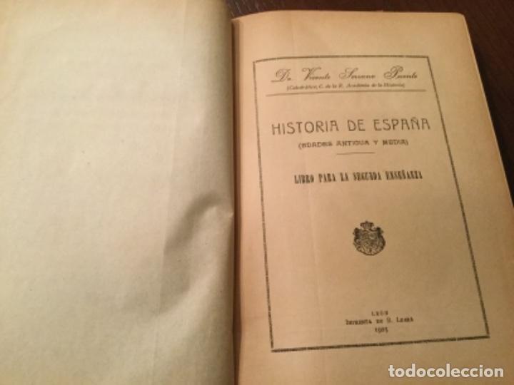 Libros antiguos: Dos libros de Historia de España - Foto 2 - 132825426