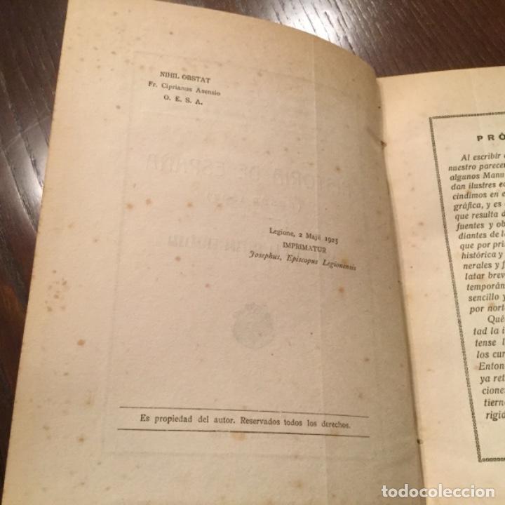 Libros antiguos: Dos libros de Historia de España - Foto 3 - 132825426