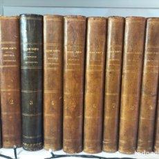 Libros antiguos: PROMOCION HISTORIA UNIVERSAL - CESAR CANTU - 1854 - GASPAR ROIG EDITORES - PLENA PIEL COMPLETA. Lote 131033739