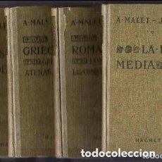 Libros antiguos: HISTORIA DE A. MALET 4 TOMOS. Lote 132936878
