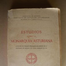 Alte Bücher - ESTUDIOS SOBRE LA MONARQUIA ASTURIANA. VVAA. 1949 - 133244730