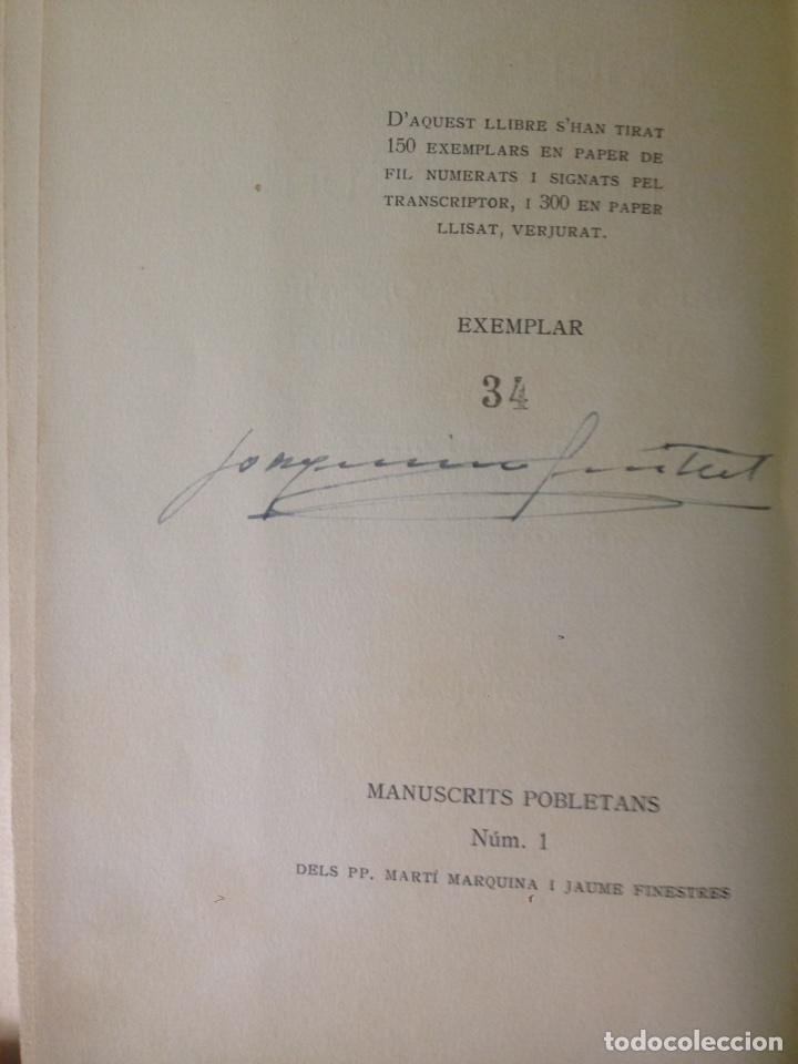 Libros antiguos: Manuscritos de Poblet - Foto 3 - 133482926