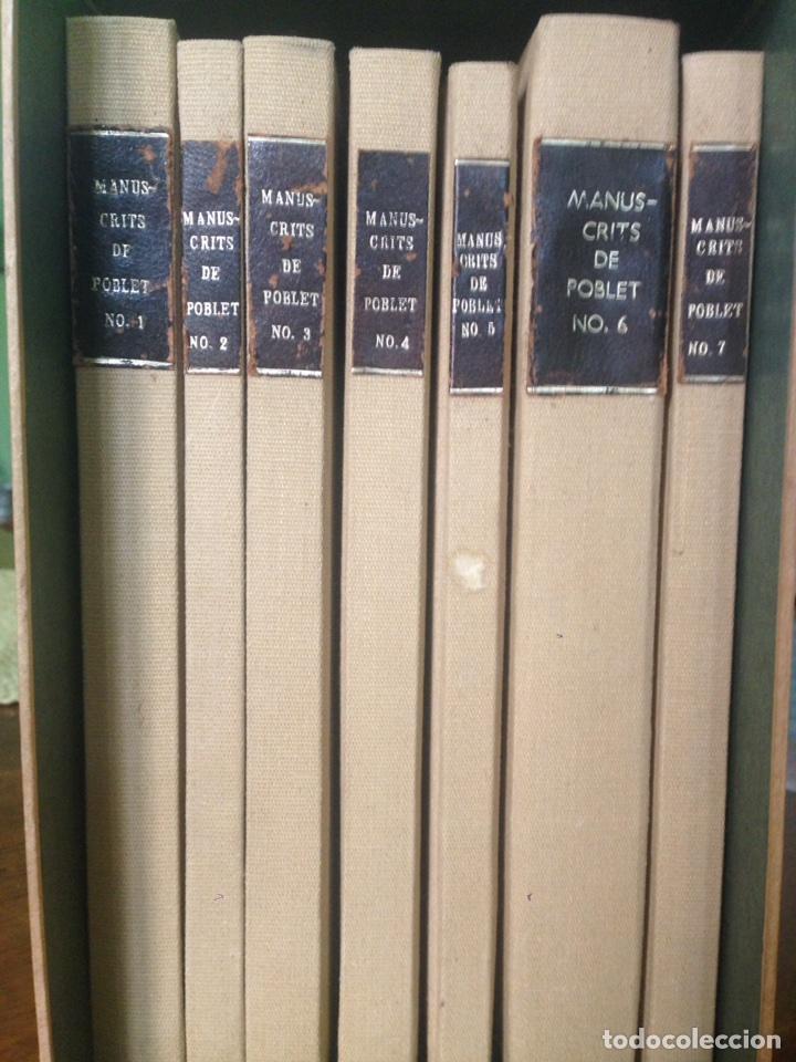 Libros antiguos: Manuscritos de Poblet - Foto 2 - 133482926