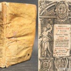 Libros antiguos: 1628 - EPITOMAE HISTORIARUM - HISTORIA UNIVERSAL DESDE ADÁN Y EVA - PERGAMINO - CARLOMAGNO. Lote 133639170