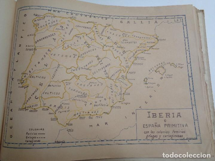 Libros antiguos: ATLAS HISTORICO POR AMADOR DE LOS RIOS.795 - Foto 4 - 133709494