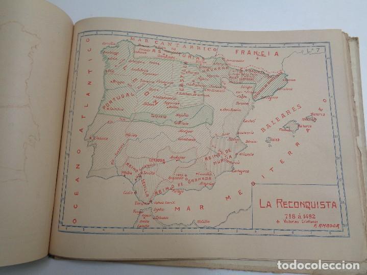 Libros antiguos: ATLAS HISTORICO POR AMADOR DE LOS RIOS.795 - Foto 6 - 133709494
