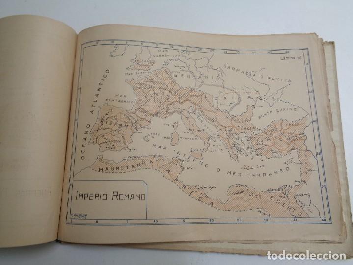 Libros antiguos: ATLAS HISTORICO POR AMADOR DE LOS RIOS.795 - Foto 7 - 133709494
