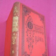 Libros antiguos: MARCO TULIO CICERON OBRAS COMPLETAS VIII BIBLIOTECA CLASICA AÑO 1912. Lote 133716014