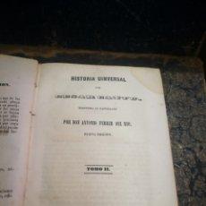 Libros antiguos: HISTORIA UNIVERSAL. CESAR CANTU. TOMO II. 1847. Lote 134379331