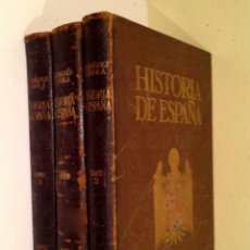 Libros antiguos: HISTORIA DE ESPAÑA Y DE LOS PUEBLOS HISPANOAMERICANOS 3TOMOS/ MANUEL RODRIGUEZ CODOLÁ ED. SEGUI. Lote 134922882